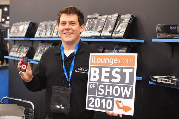 iLounge's 2010 CES iPod + iPhone Best of Show Awards