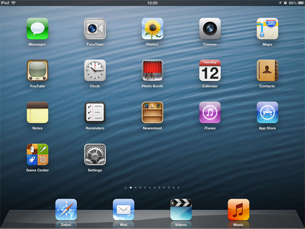 What's New In iOS 6: iPad, iPhone + iPod touch Screenshots 1