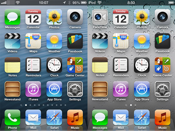 What's New In iOS 6: iPad, iPhone + iPod touch Screenshots 2