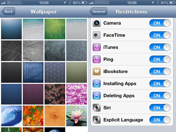 What's New In iOS 6: iPad, iPhone + iPod touch Screenshots 44