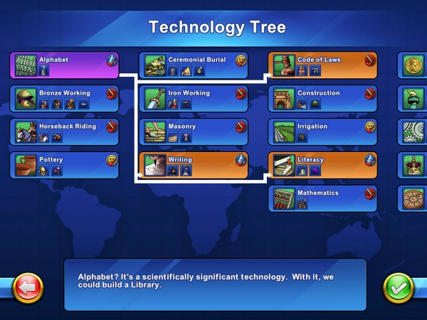 iPhone + iPad Gems: Warpgate, Virtual City, Surviving High School, The Sims 3 Ambitions, SimCity Deluxe, Civilization Revolution 26