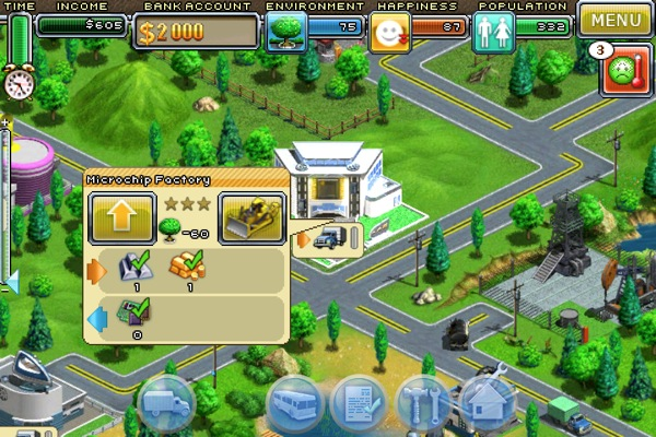 iPhone + iPad Gems: Warpgate, Virtual City, Surviving High School, The Sims 3 Ambitions, SimCity Deluxe, Civilization Revolution 9