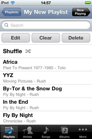 On-The-Go Playlists with iOS 4 2
