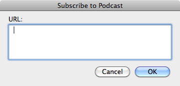 Downloading podcasts outside of iTunes