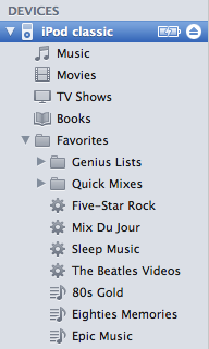 Removing playlists from iPod