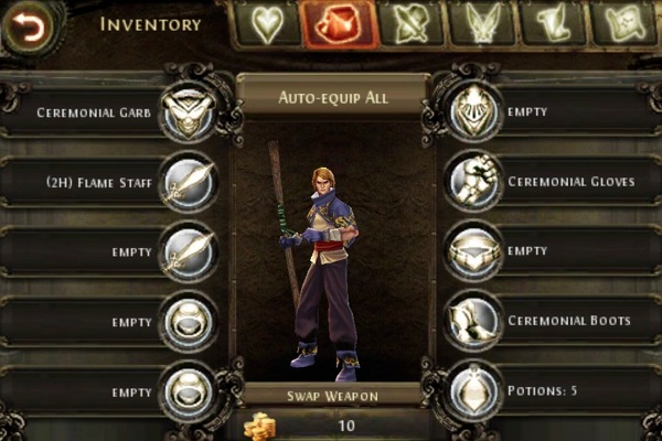 iPhone + iPad Gems: Dungeon Hunter 2 + Eternal Legacy