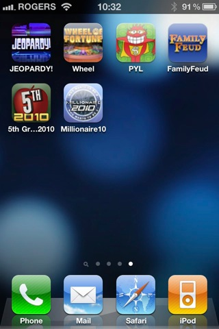 iPhone + iPad Gems: Jeopardy, Wheel of Fortune, Press Your