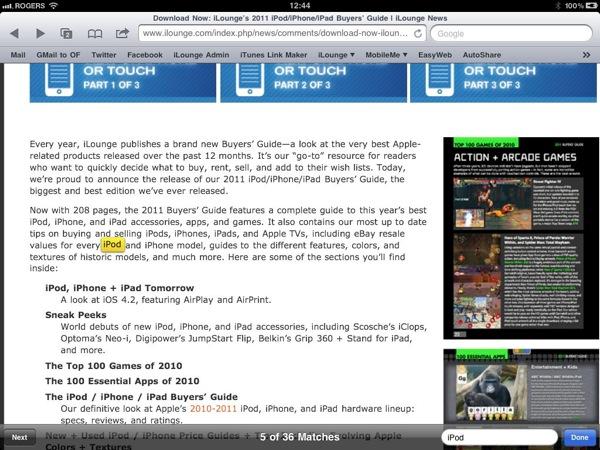 Instant Expert: Secrets & Features of iOS 4.2 34