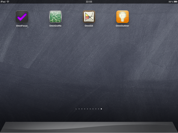 iPad Gems: OmniFocus, OmniGraffle, OmniGraphSketcher + OmniOutliner 1