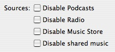 Cleaning up iTunes' Source column 1