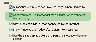 Showing current track in Windows Messenger 5