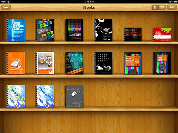How to get our 2011 Buyers' Guide (and entire Library) into iBooks