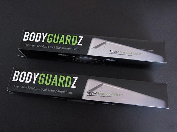 "NLU's BodyGuardz For 2010's MacBook Air 11"" + 13"" 1"