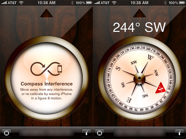 iPhone 3GS Compass Flakiness: Blame The Hardware, Or The OS? 1