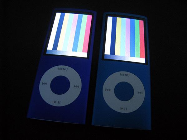 iPod nano 4G and 120GB iPod classic Diagnostic Modes 1