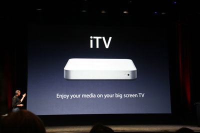 iPhone shows Jobs' brass cojones - what about Apple TV? 3