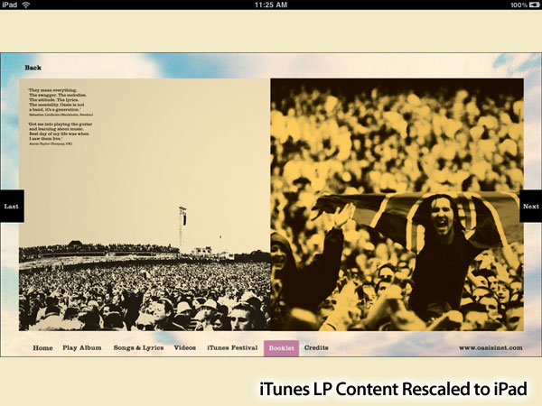 iTunes LP: Ten Months Later, It's Worth Paying For - But Not On iOS Devices 8