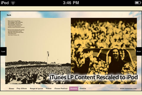 iTunes LP: Ten Months Later, It's Worth Paying For - But Not On iOS Devices 9