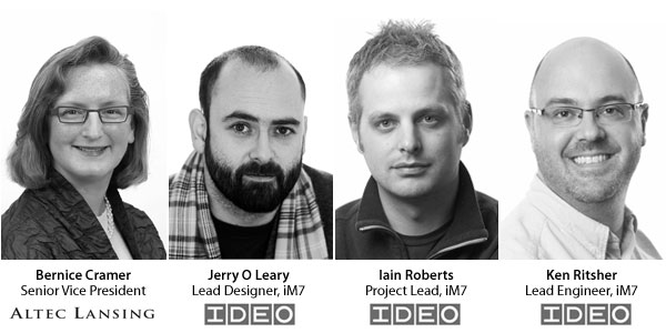 iDesign on inMotion Portable Speakers: The Altec Lansing/IDEO Interview 1