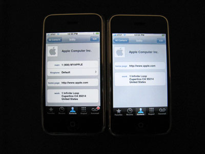 What's Changed: iPhone 1.0.2 versus 1.1.1 [updated] 6
