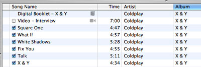 iTunes 5: Our Top Ten Requests