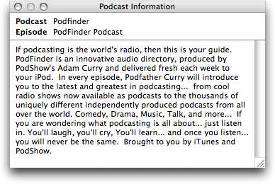 The Complete Guide to iTunes' Podcasts 5