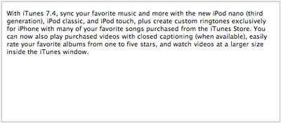 Instant Expert: Secrets & Features of iTunes 7.4 (Updated x3) 2