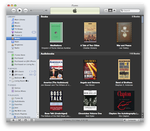Instant Expert: Secrets & Features of iTunes 9.2 (Updated) 5