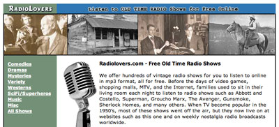 Free Old Time Radio (OTR) for Your iPod 9