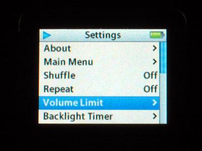Limiting Your iPod's Maximum Volume 1