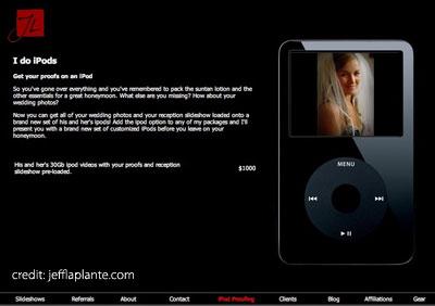 Saying iDo: Weddings, the iPod, and You