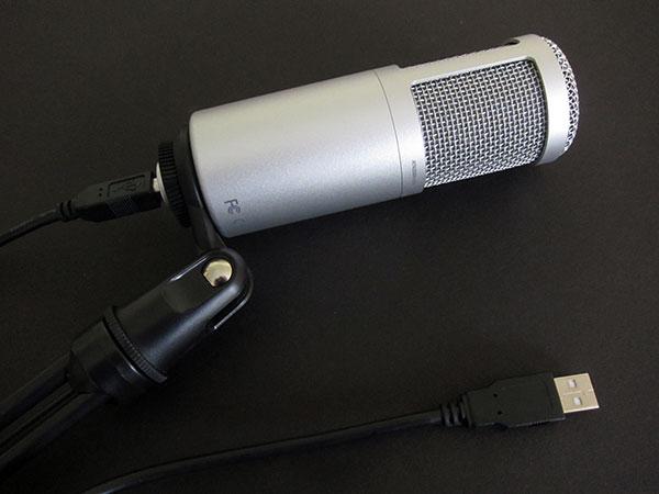 Audio-Technica ATR2100-USB + ATR2500-USB Microphones