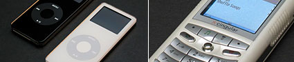 iPod nano & Motorola iTunes phone photos