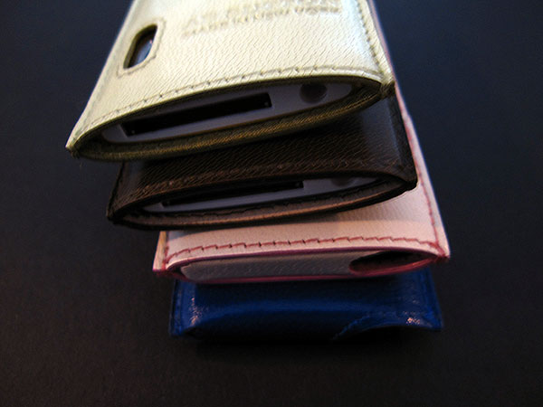 First Look: AB Sutton Slip Cases for iPod nano 5G