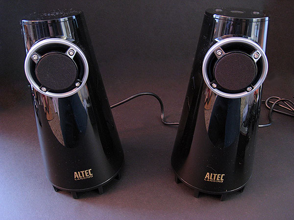On Altec Lansing's Expressionist Bass + Classic 3