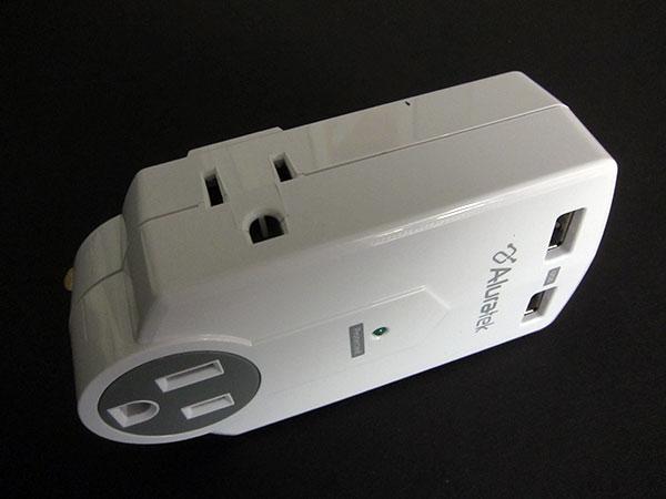 First Look: Aluratek Mini Surge Dual USB Charging Station