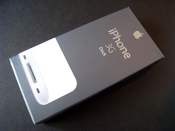 Review: Apple iPhone 3G Dock 10