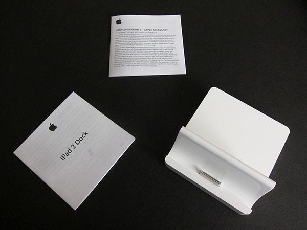 Review: Apple iPad 2 Dock