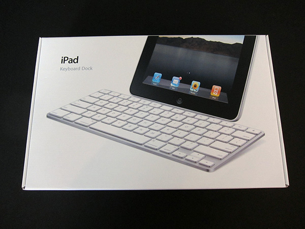 Review: Apple iPad Keyboard Dock 9