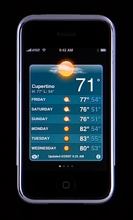 All Things iPhone: Interface and the 16 Applications 24