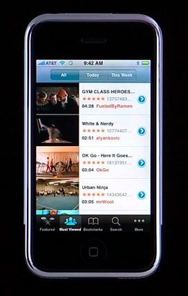 All Things iPhone: Interface and the 16 Applications 25