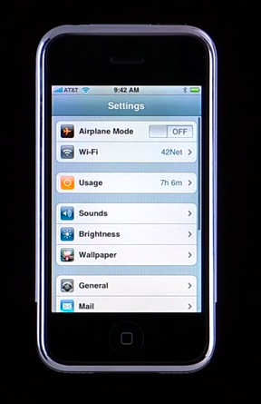 All Things iPhone: Interface and the 16 Applications 20
