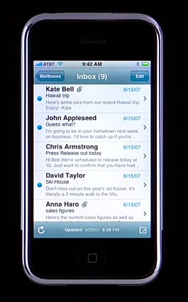 All Things iPhone: Interface and the 16 Applications 9