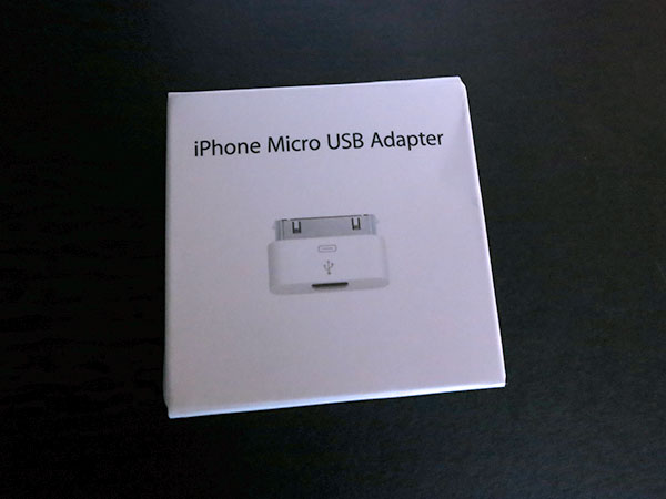First Look: Apple iPhone Micro USB Adapter