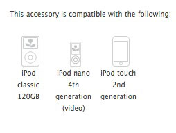 On iPod Generations: 2008's iPod shuffle and iPod classic