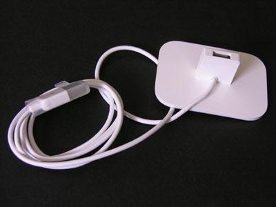 iPod shuffle Dock arrives, photos inside