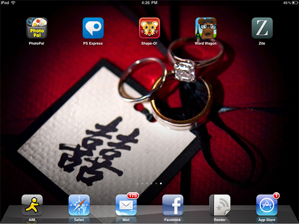 iPhone + iPad Gems: Adobe Photoshop Express 2, PhotoPal, Shape-O ABC's, Word Wagon + Zite 1