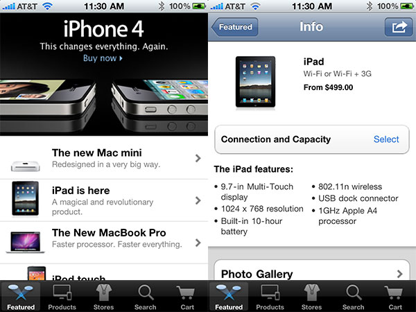 iPhone + iPad Gems: Apple Store, Find My iPhone, MobileMe Gallery + MobileMe iDisk