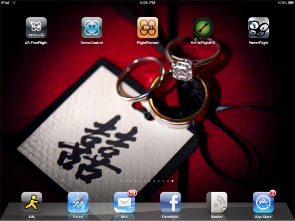 iPhone + iPad Gems: AR.Drone Apps AR.PowerFlight, DroneControl, Flight Record, MatrixFlightHD + More 1