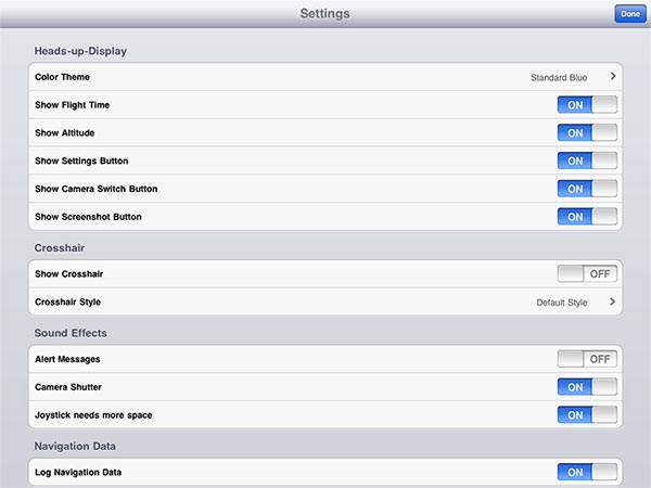 iPhone + iPad Gems: AR.Drone Apps AR.PowerFlight, DroneControl, Flight Record, MatrixFlightHD + More 7